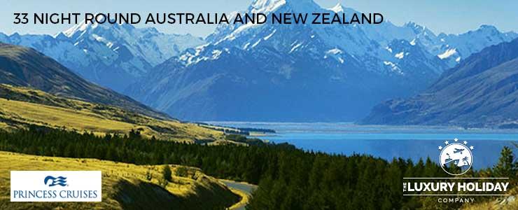 Princess Cruises Deals New Zealand Australia