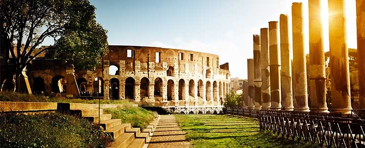 flights to europe - rome