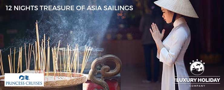 princess cruise deals asia