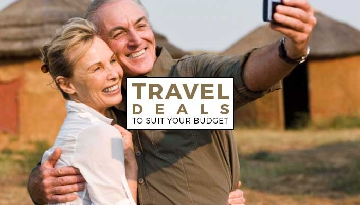 Travel deals to suit your budget