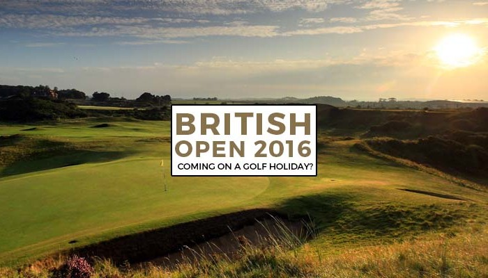 2016 British Open Golf Holiday - this is the one