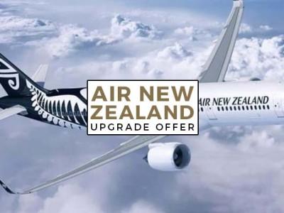 AIR NEW ZEALAND UPGRADE OFFER