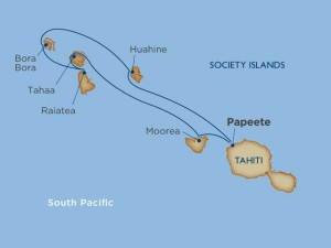 Dreams of Tahiti on a luxury cruise
