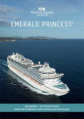Emerald Princess Sailing Times