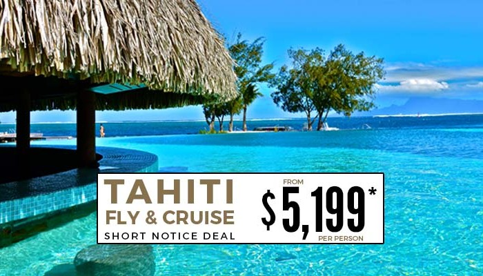 Tahiti Fly and Cruise Deal