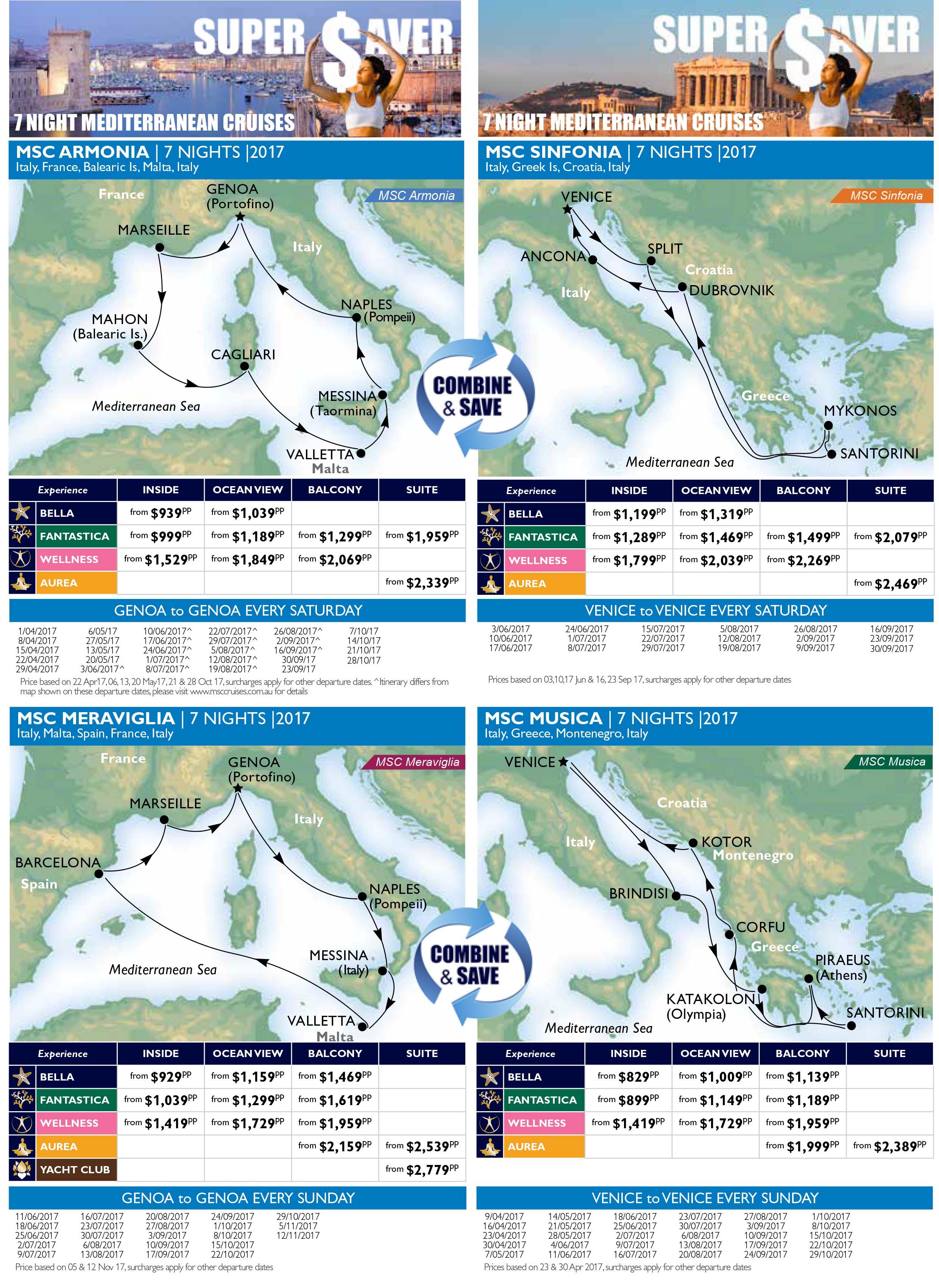 France MSC Cruise Deals