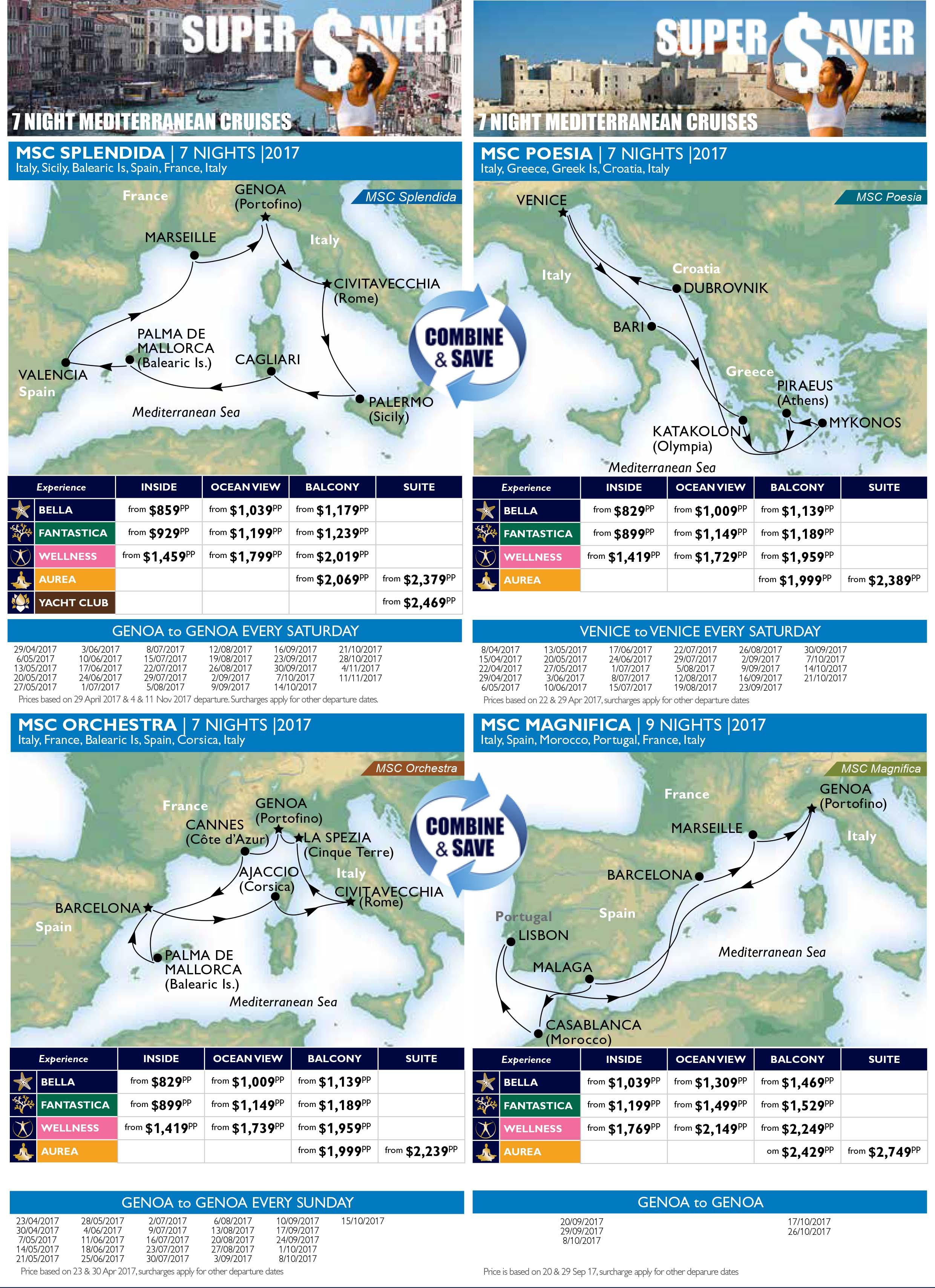 arabian peninsula MSC Cruise Deals