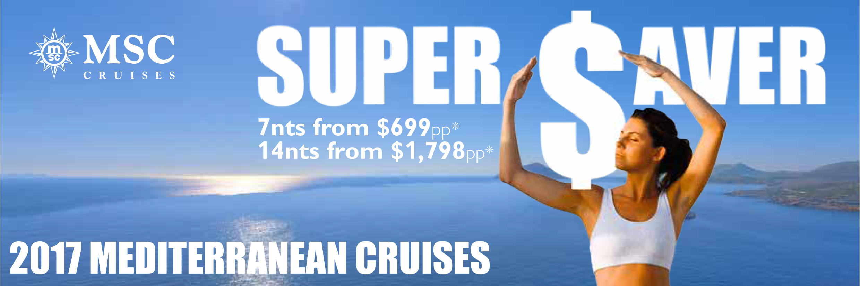 Europe MSC cruise deals